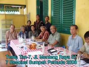 Tim-7 Sumpah Pemuda 2008