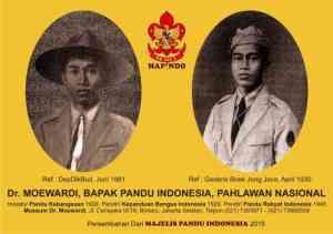 Foto Dr Moewardi Bapak Pandu Indonesia