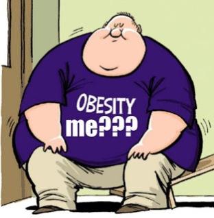 karena banyak makan gula berlebih