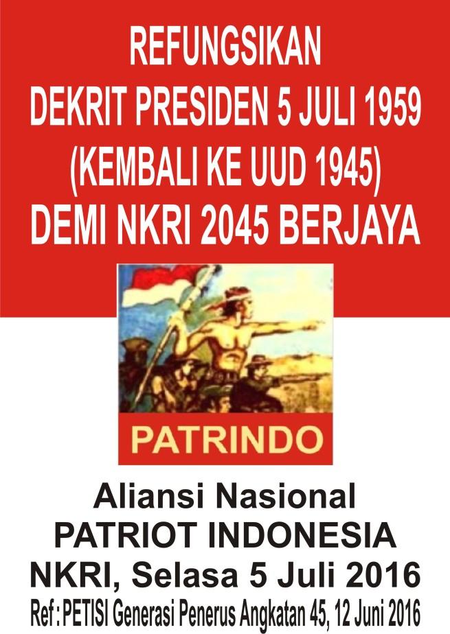 Poster 5 Juli 2016