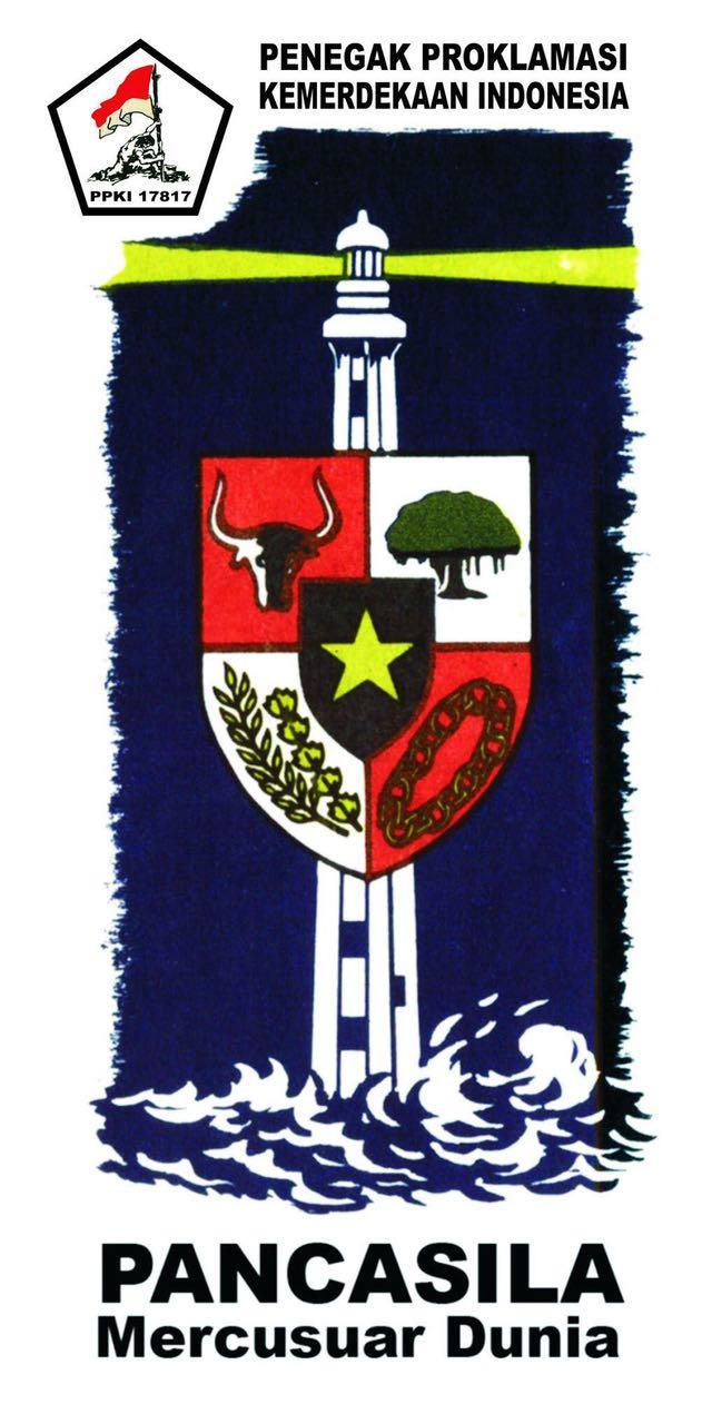 Logo Pancasila Mercusuar Dunia